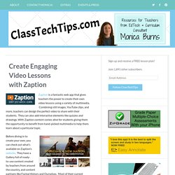 Create Engaging Video Lessons with Zaption