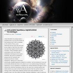 Engaging Mandala Meditation Technique
