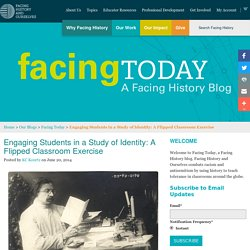 Engaging Students in a Study of Identity: A Flipped Classroom Exercise