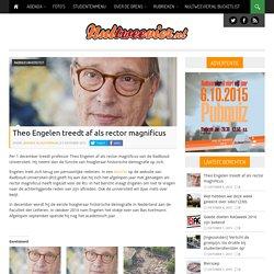 Theo Engelen treedt af als rector magnificus