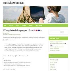 IKT+engelska +halva gruppen i fyran□□□□□□✨