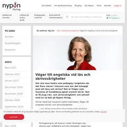 Vägar till engelska vid läs och skrivsvårigheter - Nypon Förlag