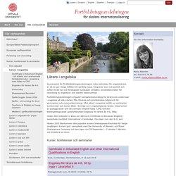 Lärare i engelska - Uppsala universitet