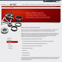 AVTEC - Engine and Transmission Components