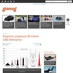 Engineer proposes $1 trillion USS Enterprise