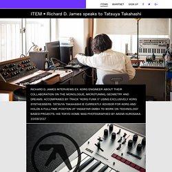 Aphex Twin Speaks To Ex. Korg Engineer Tatsuya Takahashi