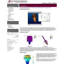ITW Engineered Fasteners: Engineering