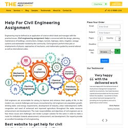 Civil Engineering Assignment: Best website to get help for civil assignment