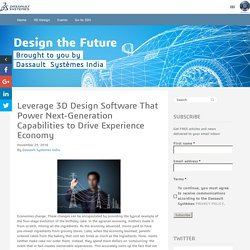 Leverage 3D design engineering for Next-Generation Capabilities