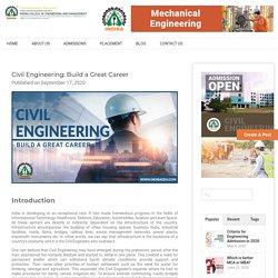Civil Engineering: Build a Great Career - IndiraICEM