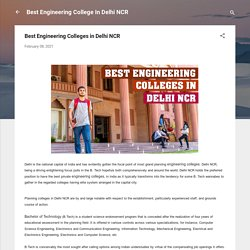 Best Engineering Colleges in Delhi NCR