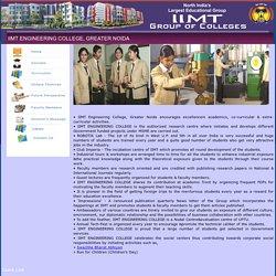 IIMT - Top Engineering Colleges in Greater Noida