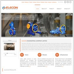 Elecon Engineering Pvt. Ltd - Material Handling - Power Transmission- Energy Solutions