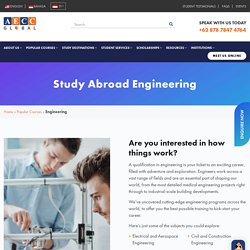 Study Abroad Engineering Courses