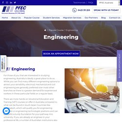 Contact us to Know More About Engineering Courses
