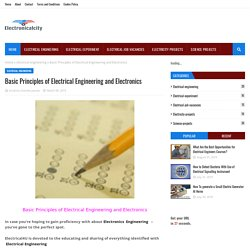 Basic Principles of Electrical Engineering and Electronics