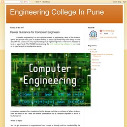 Career Guidance for Computer Engineers