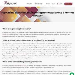 Engineering Homework Format