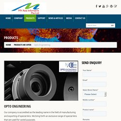 Opto Engineering Vision Imaging System Singapore