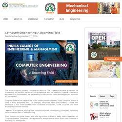 Computer Engineering: A Booming Field - Indiraicem