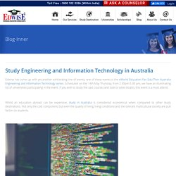 Study Engineering and Information Technology in Australia