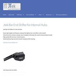 Jtek Engineering Bar End Shifter For Internal Hub Geared Bicycles