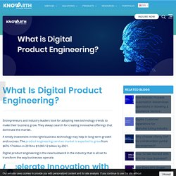Digital Product Engineering: A Brief Introduction