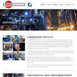 Services - TESCO Engineering - Plant Maintenance