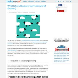 What Is Social Engineering? [MakeUseOf Explains]