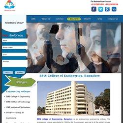 BMSCE Bangalore - Admission, Fee Structure, NRI Quota, Management Quota, Direct Admission
