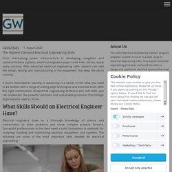 The Highest Demand Electrical Engineering Skills - mselecengineer