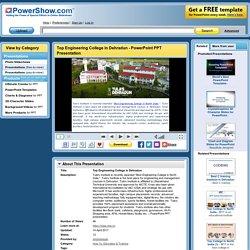 Top Engineering College in Dehradun PowerPoint presentation