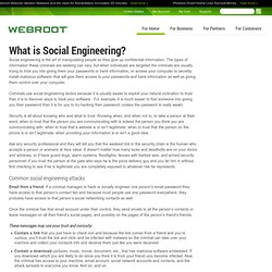 What is Social Engineering? Examples and Prevention Tips