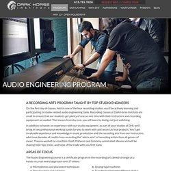 Audio Engineering Program - Dark Horse Institute