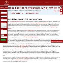 Top Engineering College in Rajasthan