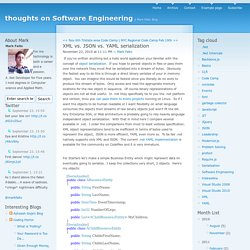 thoughts on Software Engineering