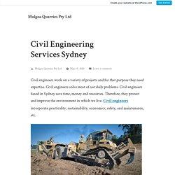 Civil Engineering Services Sydney – Mulgoa Quarries Pty Ltd