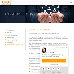 Engineering Staffing New Jersey