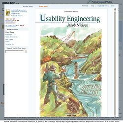 BOOK Usability Engineering (Interactive Technologies): Amazon.co.uk: Jakob Nielsen