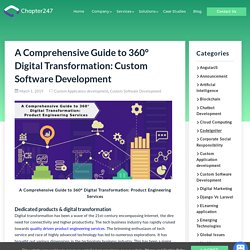 Product Engineering Services guide to 360° Digital Transformation