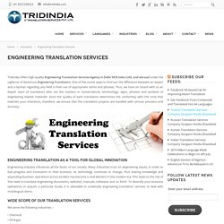 10+ Industries Where Engineering Translation is a Big Need