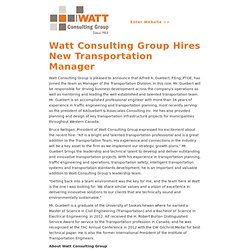 Geomatics / Legal Survey Positions | D.A. Watt Consulting Group Ltd.
