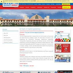 B.Tech Civil Engineering College in Bareilly