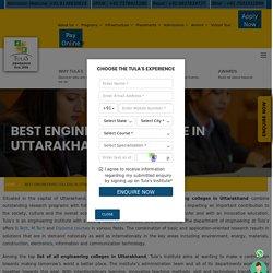 Best Engineering Colleges in Uttarakhand