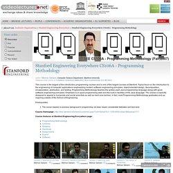 Stanford Engineering Everywhere CS106A - Programming Methodology