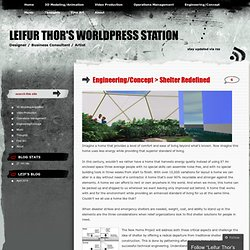 -New HOme Project « Leifur Thor's WorldPress Station