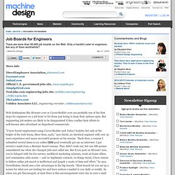 Job Boards for Engineers