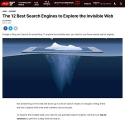10 Search Engines to Explore the Invisible Web - StumbleUpon