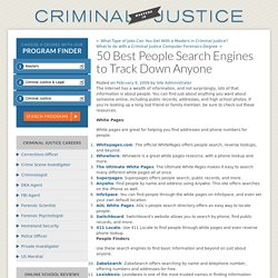 50 Best People Search Engines to Track Down Anyone