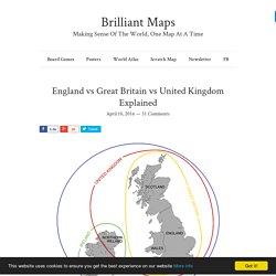 England vs Great Britain vs United Kingdom Explained